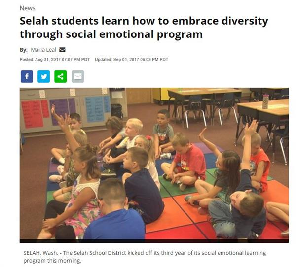 Social-Emotional Learning at JCP in the local news