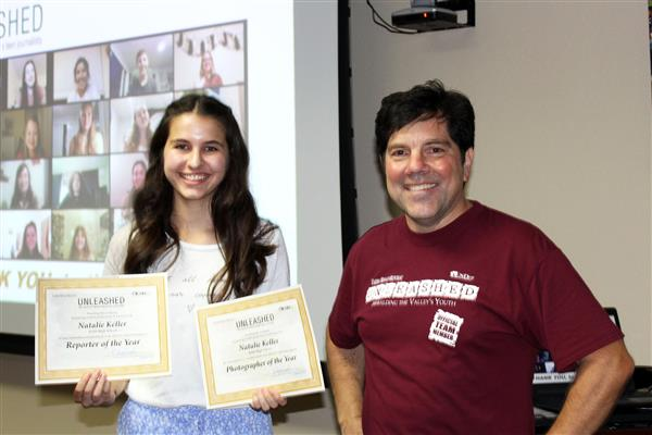 Congratulations to Natalie Keller for being named the Unleashed Reporter and Photographer of the Year.