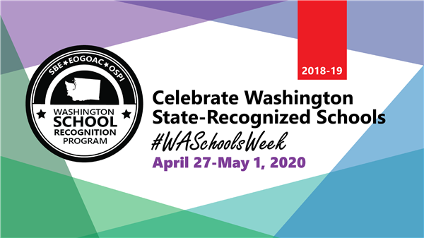 Selah Schools Honored During School Recognition Week!