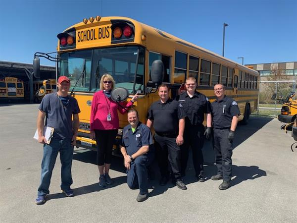 Congratulations to Selah's Transportation Department for its 100% inspection.