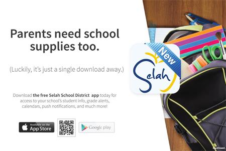 Download the Selah School District App!