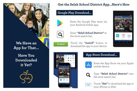 Selah School District App.