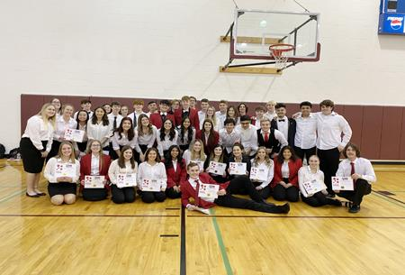 Congratulations to the Selah High School FCCLA Chapter as its entire contingent is headed to State competition.