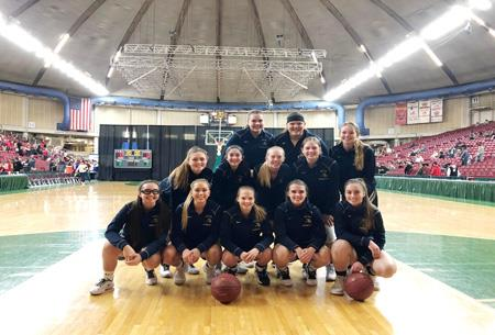 Congratulations to the Lady Viks Basketball Team for being named Academic State Champions at the 2A level.