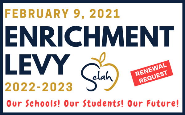 The Selah School District is running a levy renewal request on the February 9, 2021 ballot.