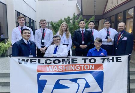 Congratulations to all the Selah High School students that competed at the TSA State Competition.
