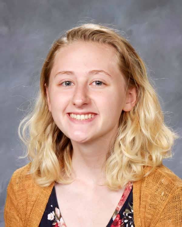 Lauren Treolo advances to the regional Poetry Out Loud competition.