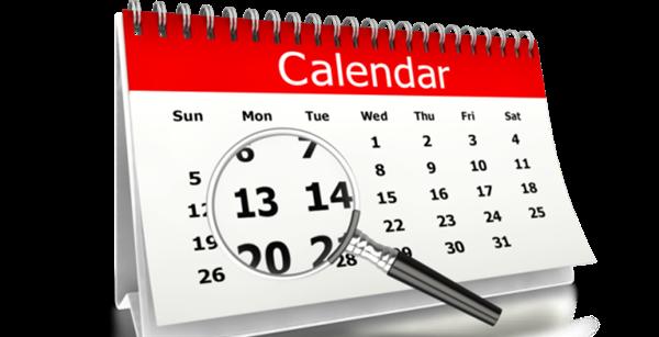The 2020-2021 school calendar is set!