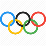 The Olympic rings image will direct you to KNDO video on the Ozolympics.