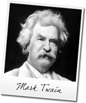 SMS Students Spend An Evening With Mark Twain!