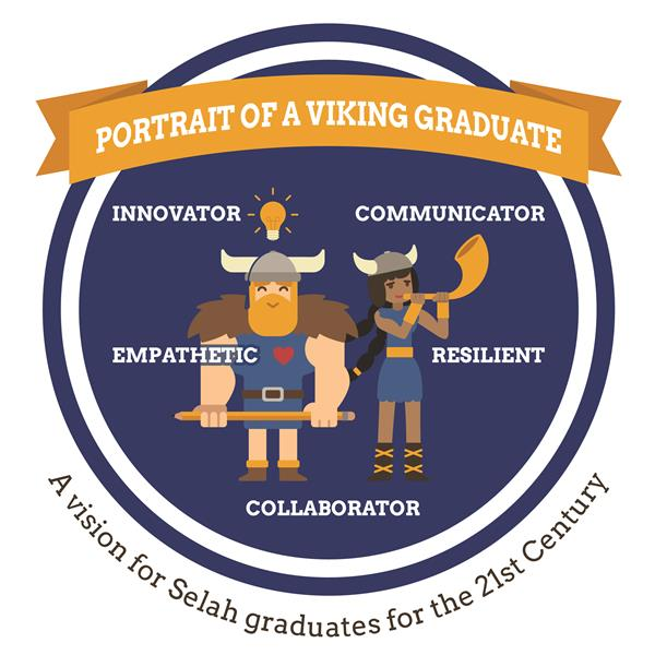 Portrait of a Viking Graduate