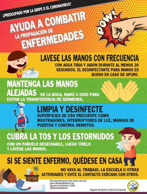Fight Germs _ Spanish