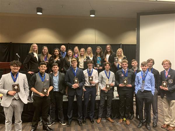 DECA Students Compete